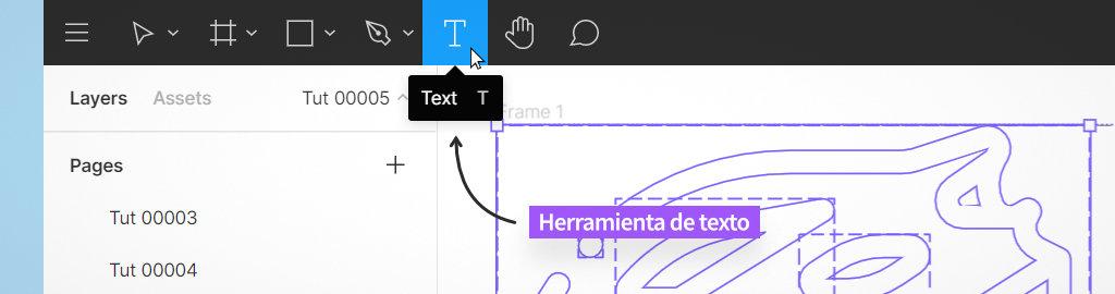 crear y editar textos con figma