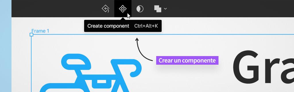 cómo crear un componente